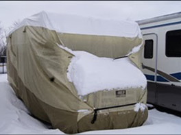 Rv Cover Snow